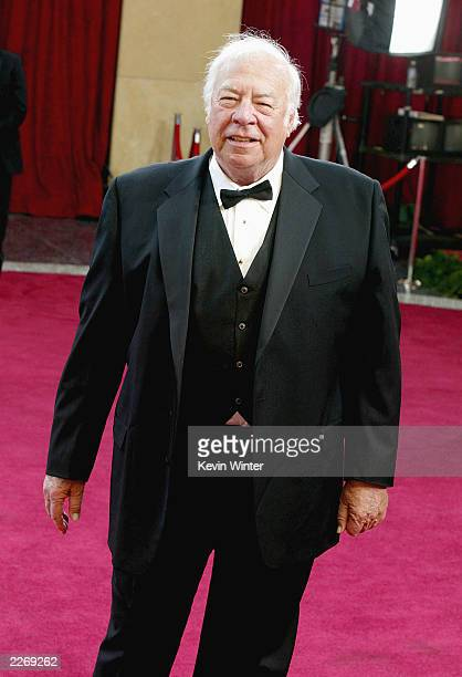 Actor George Kennedy attends the 75th Annual Academy Awards at the Kodak Theater on March 23 2003 in Hollywood California
