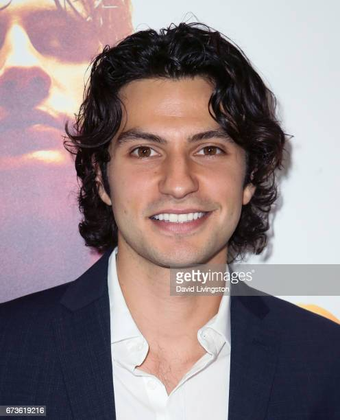 Actor George Kosturos attends the premiere of Warner Bros Home Entertainment's 'American Wrestler The Wizard' at Regal LA Live Stadium 14 on April 26...