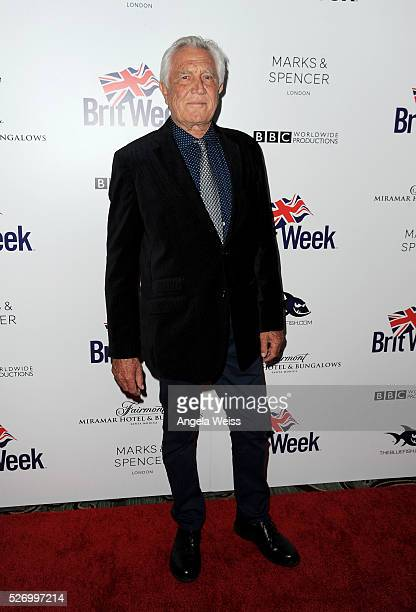 Actor George Lazenby attends BritWeek's 10th Anniversary VIP Reception Gala at Fairmont Hotel on May 1 2016 in Los Angeles California