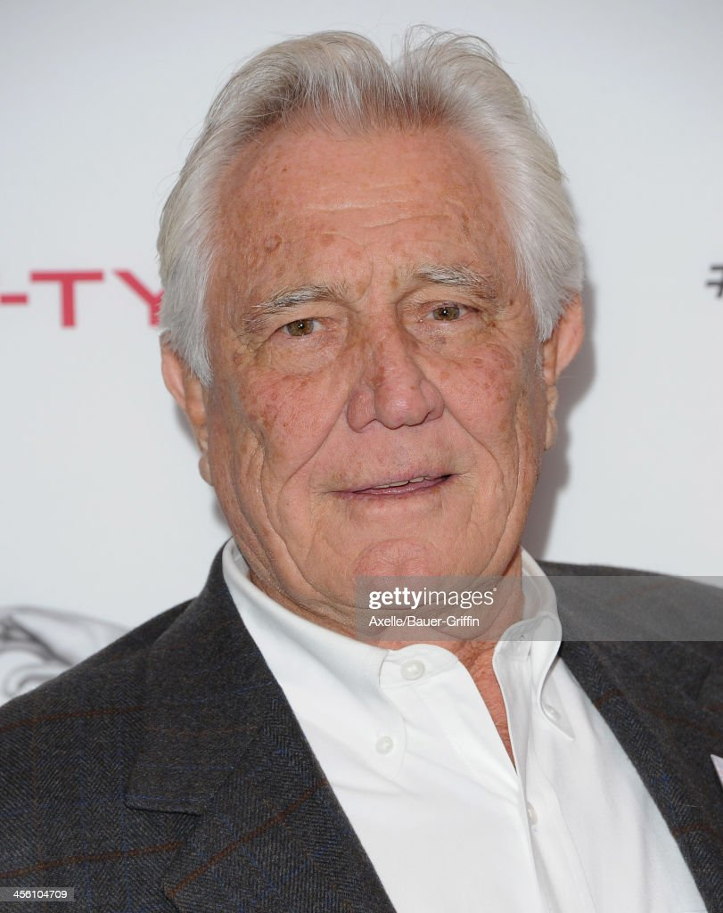 Actor <a gi-track='captionPersonalityLinkClicked' href=/galleries/search?phrase=George+Lazenby&family=editorial&specificpeople=228936 ng-click='$event.stopPropagation()'>George Lazenby</a> attends the launch party for the Jaguar F-TYPE Coupe at Raleigh Studios on November 19, 2013 in Playa Vista, California.