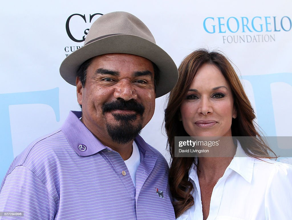 Actor George Lopez (L) attends the Ninth Annual George Lopez Celebrity Golf Classic at Lakeside Golf Club on May 2, 2016 in Burbank, California.