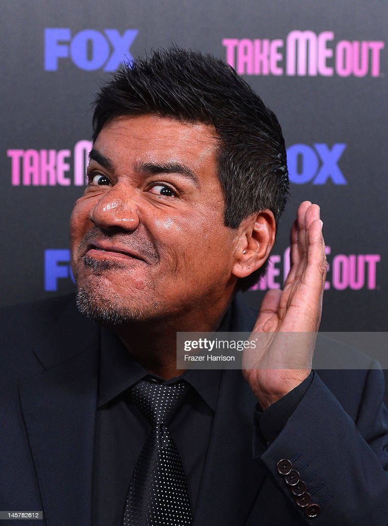 Fox     s Actor George Lopez arrives at Fox     s      Take Me Out      Speed Dating Event at South