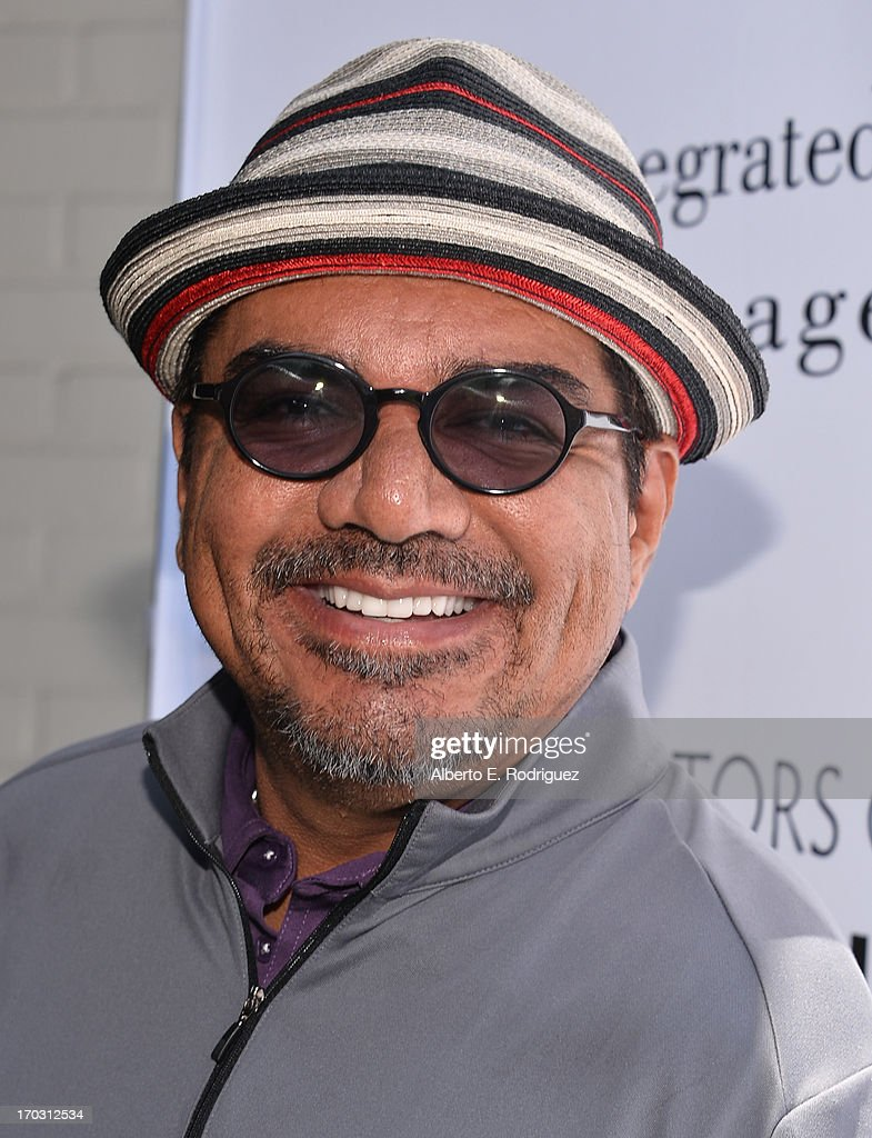 Actor George Lopez attends the Screen Actors Guild Foundation 4th Annual Los Angeles Golf Classic at Lakeside Golf Club on June 10 2013 in Burbank...