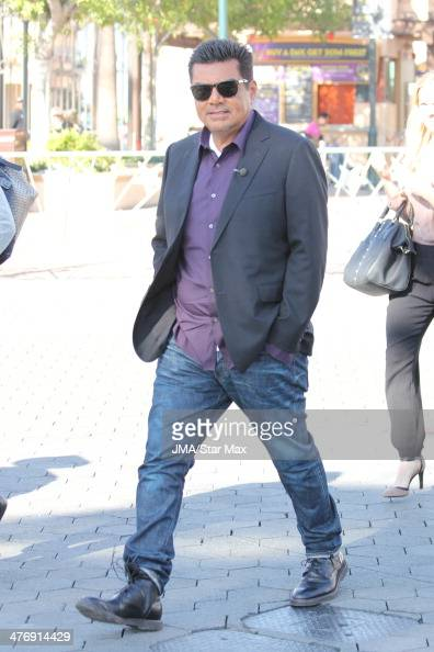Actor George Lopez is seen on March 5 2014 in Los Angeles California