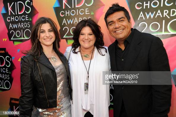 Actor George Lopez Mayan Lopez...