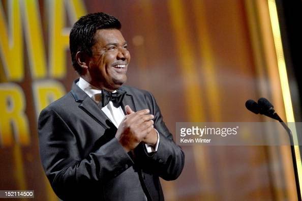Actor George Lopez onstage at the 2012 NCLR ALMA Awards at Pasadena Civic Auditorium on September 16 2012 in Pasadena California
