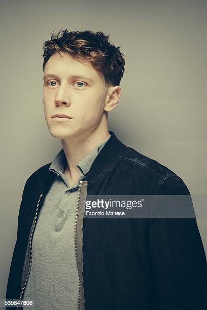 Actor George MacKay is photographed for The Hollywood Reporter on May 14 2016 in Cannes France