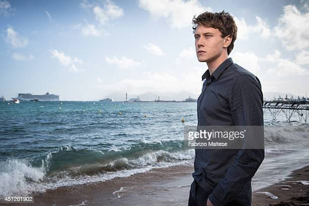 Actor George MacKay is photographed in Cannes France