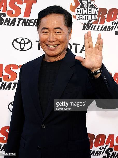 Actor George Takei arrives at the Comedy Central Roast of William Shatner held at CBS Radford Studios on August 13 2006 in Studio City California