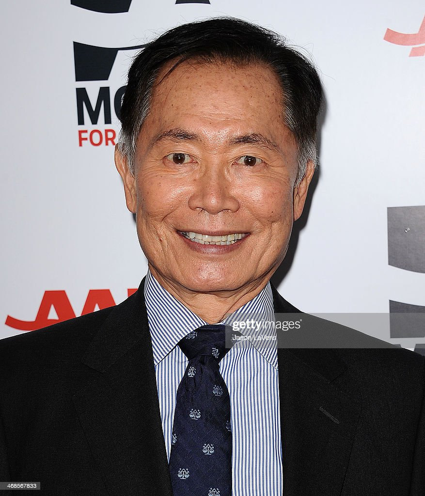 Actor George Takei attends the 13th annual AARP's Movies For Grownups Awards gala at Regent Beverly Wilshire Hotel on February 10, 2014 in Beverly Hills, California.