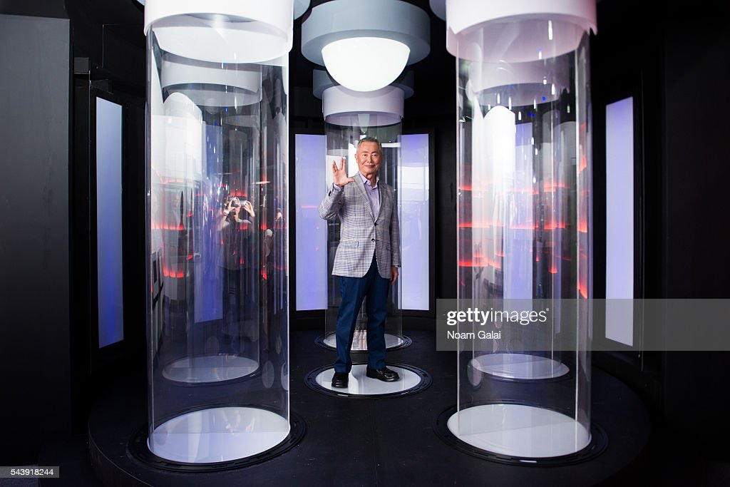 Actor <a gi-track='captionPersonalityLinkClicked' href=/galleries/search?phrase=George+Takei&family=editorial&specificpeople=1534988 ng-click='$event.stopPropagation()'>George Takei</a> attends the Star Trek: The Star Fleet Academy Experience at Intrepid Sea-Air-Space Museum on June 30, 2016 in New York City.