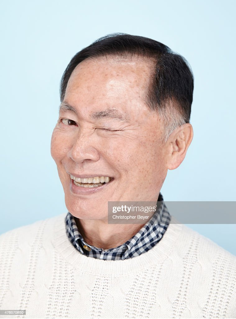 Actor <a gi-track='captionPersonalityLinkClicked' href=/galleries/search?phrase=George+Takei&family=editorial&specificpeople=1534988 ng-click='$event.stopPropagation()'>George Takei</a> is photographed for Entertainment Weekly Magazine on January 25, 2014 in Park City, Utah.
