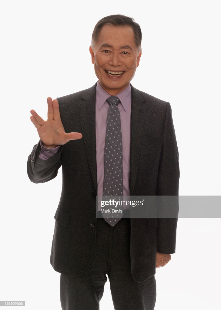 Actor George Takei poses for a portrait in the TV Guide Portrait Studio at the 3rd Annual Streamy Awards at Hollywood Palladium on February 17, 2013 in Hollywood, California.