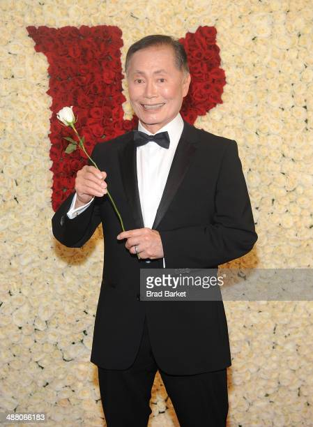 Actor George Takei visits the Ketel One VIP Red Carpet Suite at the 25th Annual GLAAD Media Awards on May 3 2014 in New York City