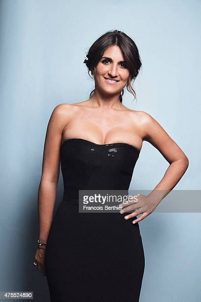 Actor Geraldine Nakache is photographed on May 20 2015 in Cannes France