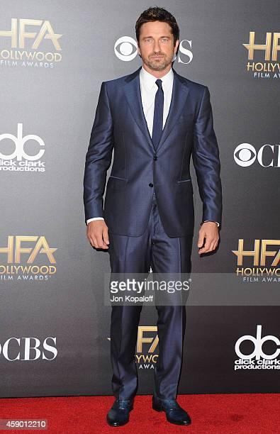Actor Gerard Butler arrives at the 18th Annual Hollywood Film Awards at Hollywood Palladium on November 14 2014 in Hollywood California