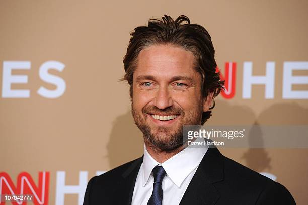 Actor Gerard Butler arrives at the 2010 CNN Heroes An AllStar Tribute held at The Shrine Auditorium on November 20 2010 in Los Angeles California