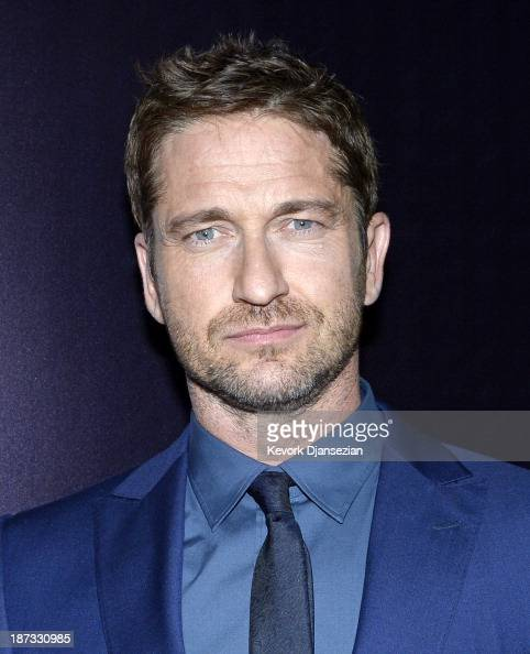 Actor Gerard Butler arrives for the Ermenegildo Zegna Global Store Opening hosted by Gildo Zegna and Stefano Pilati at Ermenegildo Zegna Boutique on...