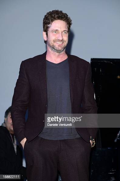 Actor Gerard Butler attends Day 5 of the 2012 Capri Hollywood Film Festival on December 30 2012 in Capri Italy