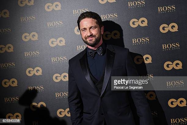 Actor Gerard Butler attends GQ Men Of The Year Awards at Musee d'Orsay on November 23 2016 in Paris France