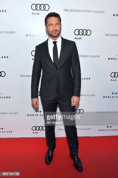 Actor Gerard Butler attends PreScreening Event For 'The Headhunter's Calling' CoHosted By Audi during 2016 Toronto International Film Festival at Roy...