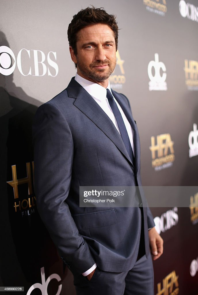 Actor Gerard Butler attends the 18th Annual Hollywood Film Awards at The Palladium on November 14, 2014 in Hollywood, California.