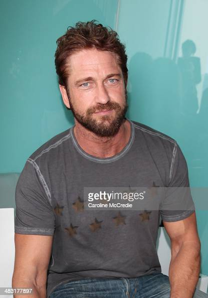 Actor Gerard Butler attends the Ellery show during MercedesBenz Fashion Week Australia 2014 at Bondi Icebergs Dining Room on April 7 2014 in Sydney...
