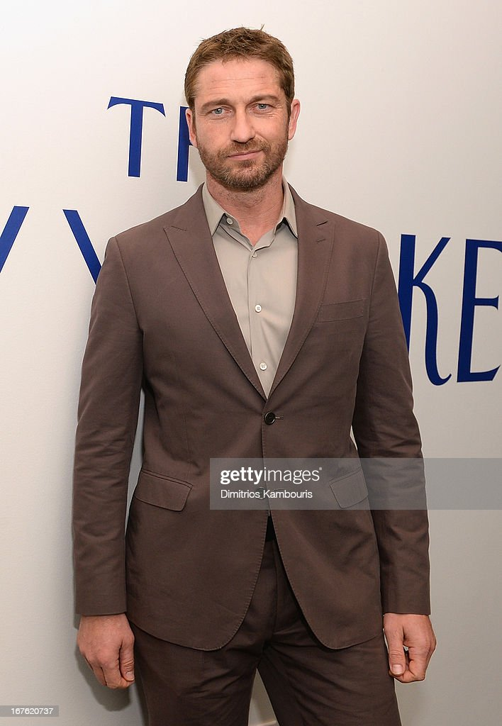 Actor <a gi-track='captionPersonalityLinkClicked' href=/galleries/search?phrase=Gerard+Butler&family=editorial&specificpeople=202258 ng-click='$event.stopPropagation()'>Gerard Butler</a> attends The New Yorker's David Remnick Hosts White House Correspondents' Dinner Weekend Pre-Party at W Hotel Rooftop on April 26, 2013 in Washington, DC.