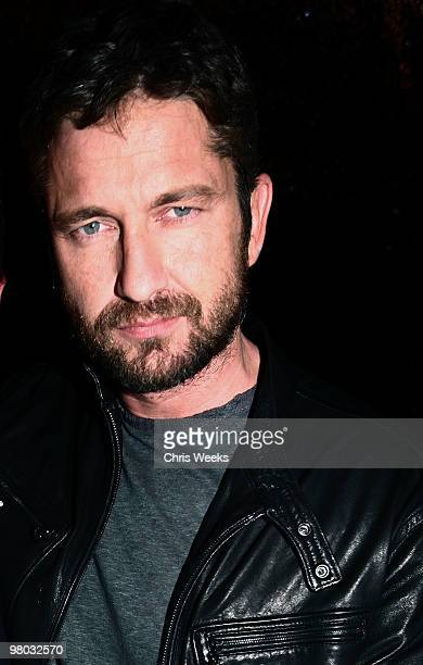 Actor Gerard Butler attends the second anniversary party of Nobu on March 24 2010 in Los Angeles California