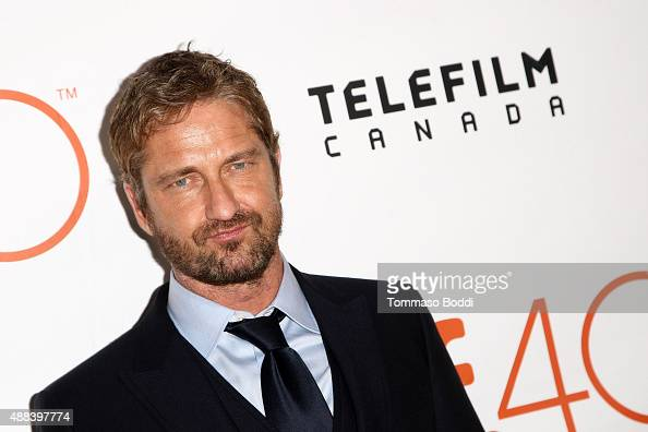 Actor Gerard Butler attends the 'Septembers Of Shiraz' premiere during the 2015 Toronto International Film Festival held at Roy Thomson Hall on...