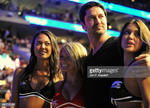 Actor Gerard Butler attends the UFC 101 Declaration at the Wachovia Center on August 8 2009 in Philadelphia Pennsylvania