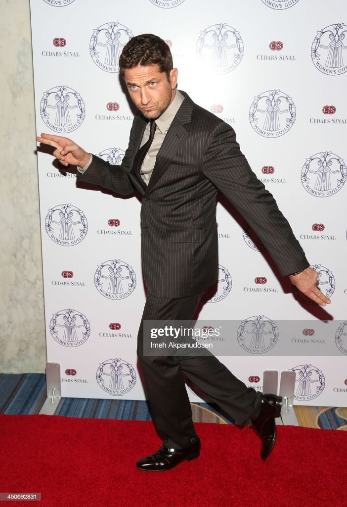 Actor <a gi-track='captionPersonalityLinkClicked' href=/galleries/search?phrase=Gerard+Butler+-+Actor&family=editorial&specificpeople=202258 ng-click='$event.stopPropagation()'>Gerard Butler</a> attends the Women's Guild Cedars-Sinai Annual Gala at the Beverly Wilshire Four Seasons Hotel on November 19, 2013 in Beverly Hills, California.