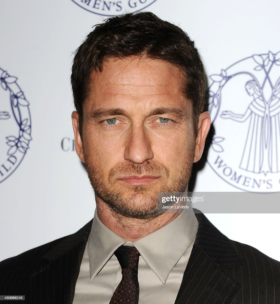 Actor <a gi-track='captionPersonalityLinkClicked' href=/galleries/search?phrase=Gerard+Butler+-+Actor&family=editorial&specificpeople=202258 ng-click='$event.stopPropagation()'>Gerard Butler</a> attends the Women's Guild Cedars-Sinai gala at Regent Beverly Wilshire Hotel on November 19, 2013 in Beverly Hills, California.