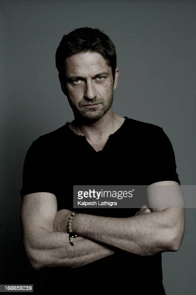 Actor Gerard Butler is photographed for the Independent on April 13 2013 in London England