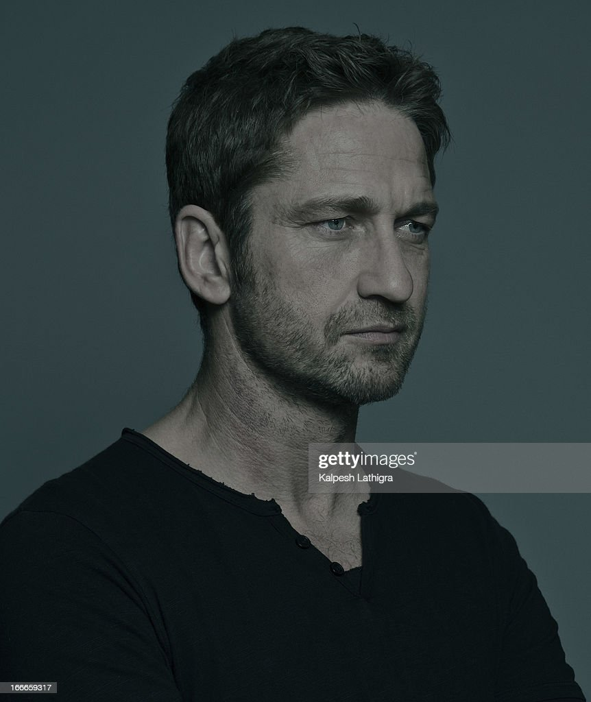 Actor <a gi-track='captionPersonalityLinkClicked' href=/galleries/search?phrase=Gerard+Butler+-+Actor&family=editorial&specificpeople=202258 ng-click='$event.stopPropagation()'>Gerard Butler</a> is photographed for the Independent on April 13, 2013 in London, England.