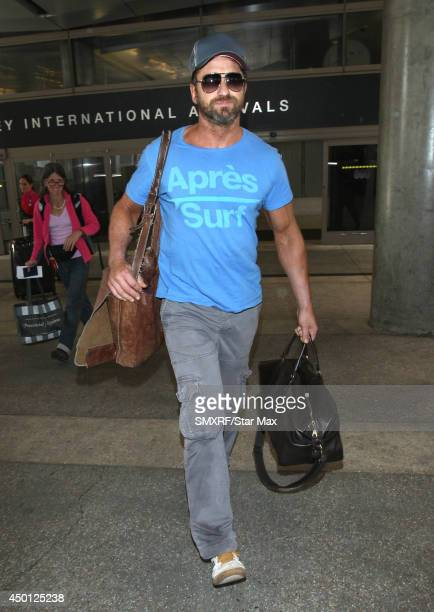 Actor Gerard Butler is seen on June 5 2014 in Los Angeles California