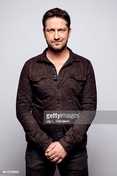 Actor Gerard Butler of 'Headhunter's Calling' poses for a portraits at the Toronto International Film Festival for Los Angeles Times on September 12...