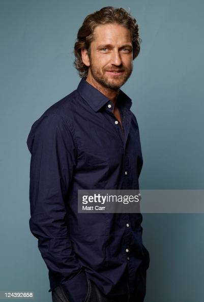 Actor Gerard Butler of 'Machine Gun Preacher' poses for a portrait during 2011 Toronto Film Festival on September 9 2011 in Toronto Canada