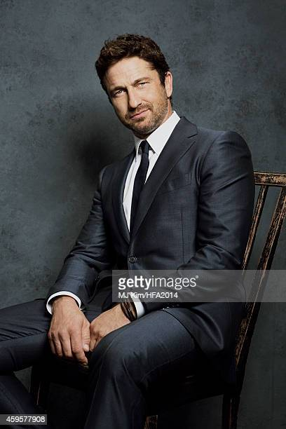 Actor Gerard Butler poses for a portrait at the 18th Annual Hollywood Film Awards on November 14 2014 in Hollywood California