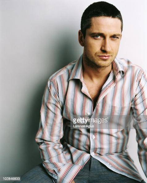 Actor Gerard Butler poses for a portrait on March 13 2003 in London