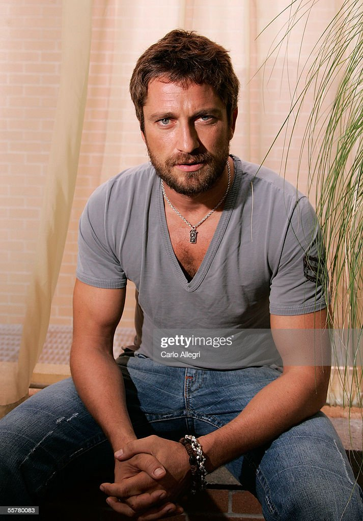 Actor <a gi-track='captionPersonalityLinkClicked' href=/galleries/search?phrase=Gerard+Butler+-+Actor&family=editorial&specificpeople=202258 ng-click='$event.stopPropagation()'>Gerard Butler</a> poses for a portrait while promoting the film 'Beowulf & Grendel' at the Toronto International Film Festival September 15, 2005 in Toronto, Canada.