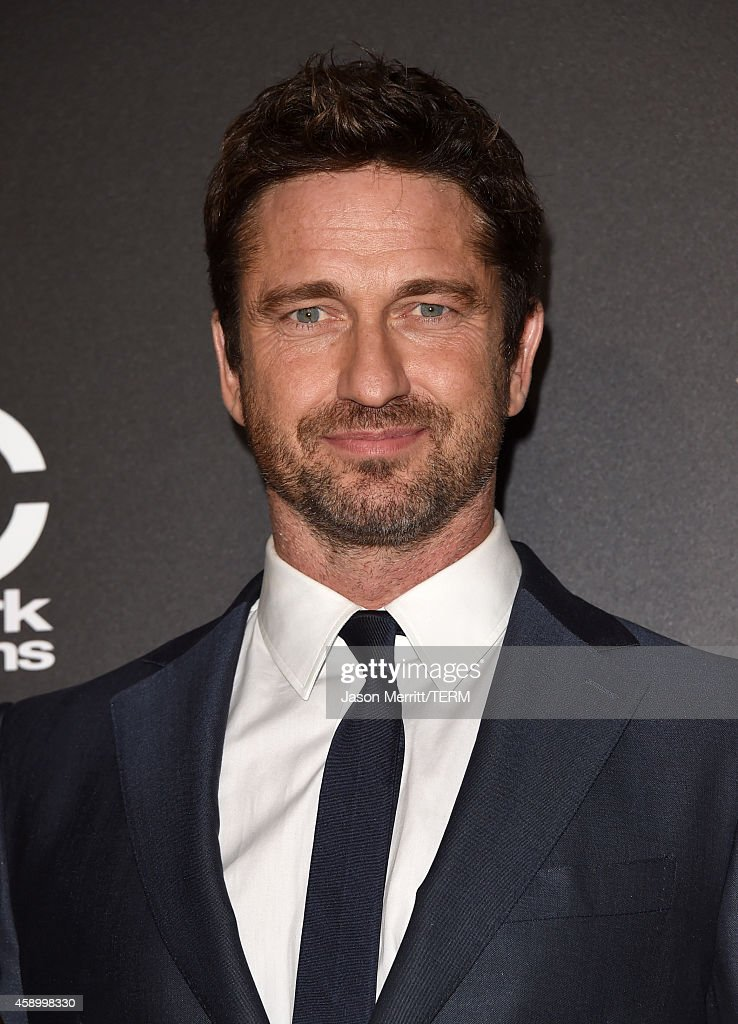 Actor <a gi-track='captionPersonalityLinkClicked' href=/galleries/search?phrase=Gerard+Butler+-+Actor&family=editorial&specificpeople=202258 ng-click='$event.stopPropagation()'>Gerard Butler</a> poses in the press room during the 18th Annual Hollywood Film Awards at The Palladium on November 14, 2014 in Hollywood, California.