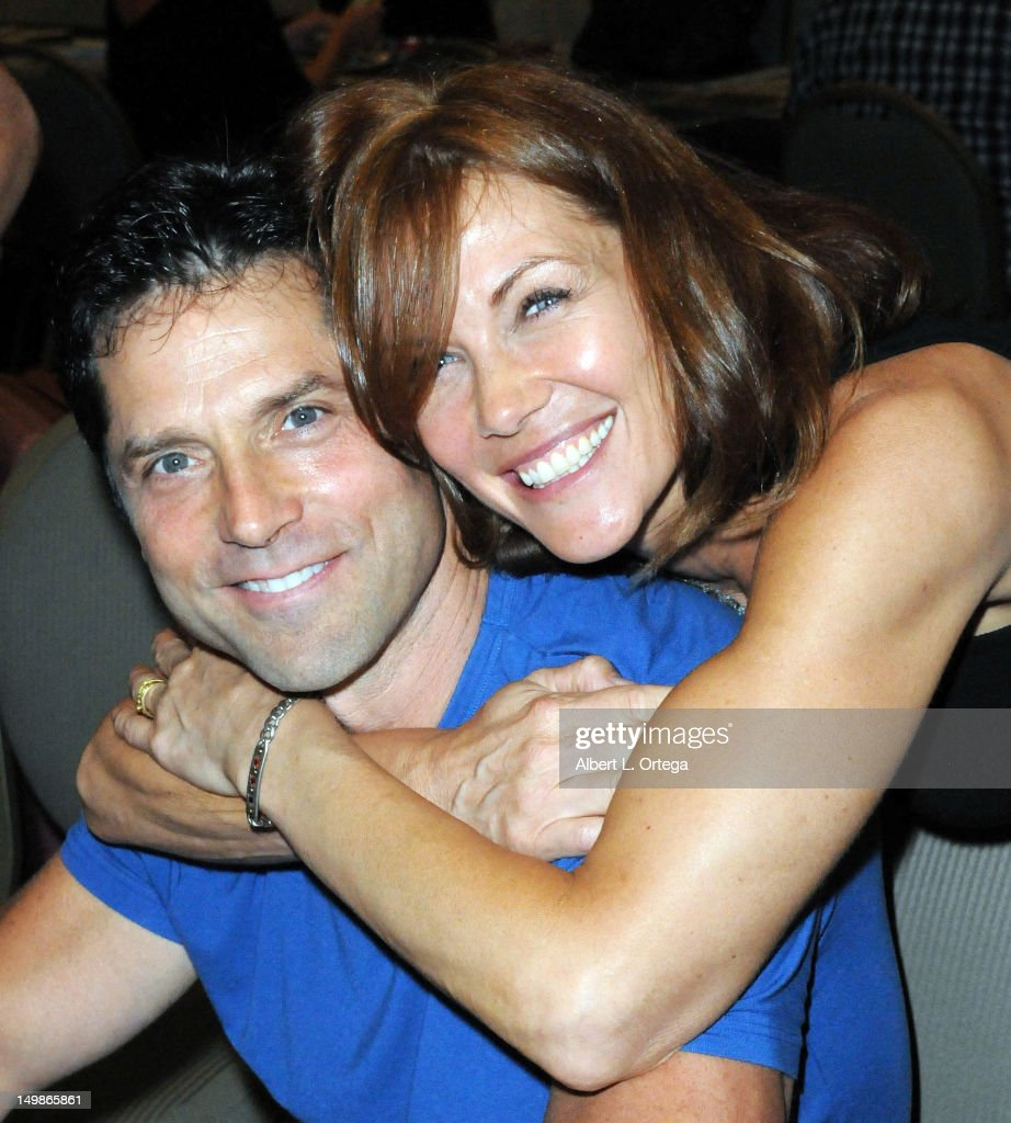 Actor Gerard Christopher and actress Stacy Haiduk participate in The Hollywood Show held at Burbank Airport Marriott Hotel & Convention Center on August 5, 2012 in Burbank, California.