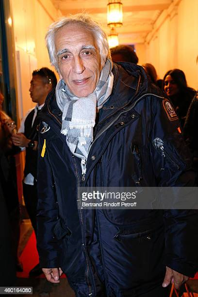 Actor Gerard Darmon attends the Sarah Guetta Party in Paris for the first anniversary of the Hairdressing salon Sarah Guetta on December 8 2014 in...