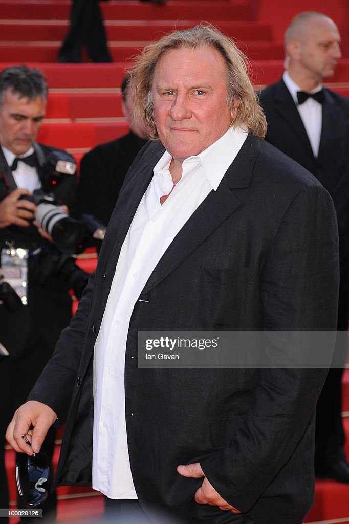 Actor Gerard Depardieu attends the 'Fair Game' Premiere at the Palais des Festivals during the 63rd Annual Cannes Film Festival on May 20, 2010 in Cannes, France.