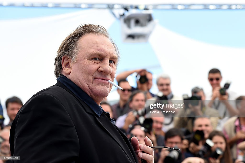 Actor <a gi-track='captionPersonalityLinkClicked' href=/galleries/search?phrase=Gerard+Depardieu&family=editorial&specificpeople=207073 ng-click='$event.stopPropagation()'>Gerard Depardieu</a> attends the 'Valley Of Love' Photocall during the 68th annual Cannes Film Festival on May 22, 2015 in Cannes, France.