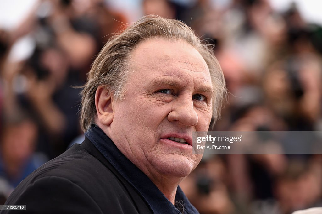 Actor Gerard Depardieu attends the 'Valley Of Love' Photocall during the 68th annual Cannes Film Festival on May 22, 2015 in Cannes, France.