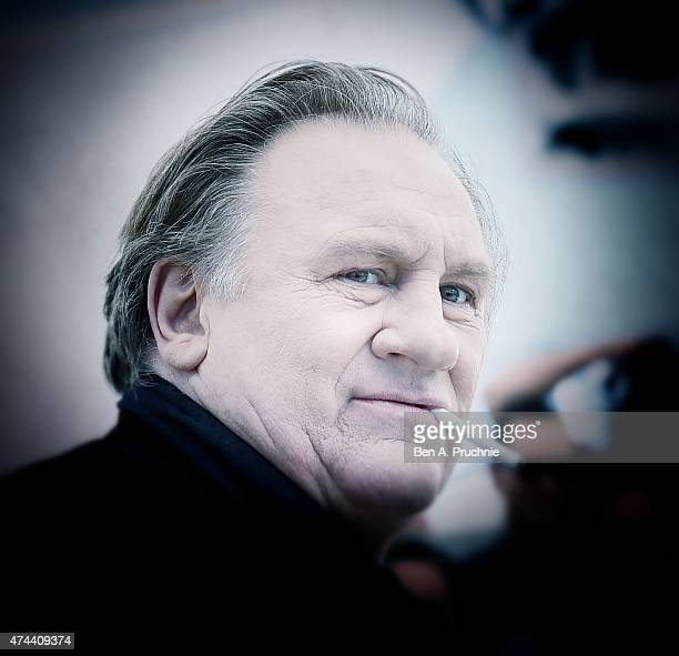 Actor Gerard Depardieu attends the 'Valley Of Love' Photocall during the 68th annual Cannes Film Festival on May 22 2015 in Cannes France