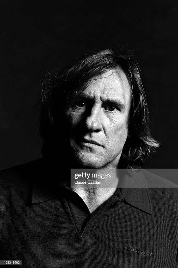 Actor Gerard Depardieu poses at a portrait session in May, 1998 in Paris. Unpublished image.