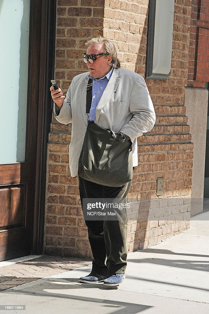 Actor Gerard Deperdieu as seen on May 3, 2013 in New York City.